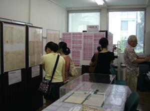 大大学史史料室特別公開 寄贈資料展20140905_2